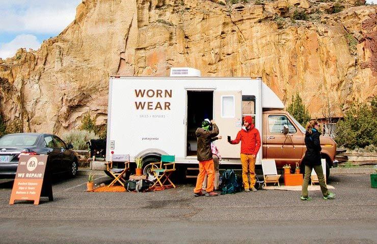 ethische marketing: worn wear project van Patagonia